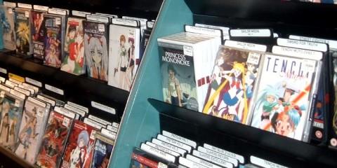 Anime shelf