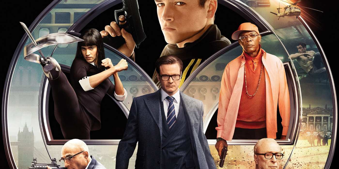 Movies Like Kingsman The Secret Service Slick Spies  E  A Itcher Magazine